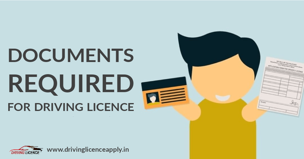 Document Required for Driving Licence Registration Online